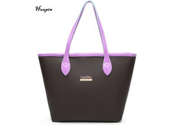 Wholesale Open End - 2017 latest solid color high-capacity handbag ladies high-end brand shopping bags Europe and the United States fashion bag free shipping