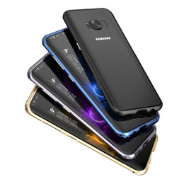 Wholesale Metal Case For Galaxy - for samsung galaxy s8 plus Aluminum Metal Frame phone Bumper case for samsung s8+ Shockproof slim phone border cases