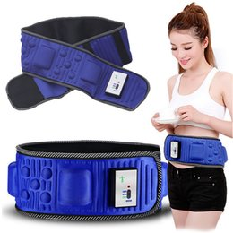 Wholesale Massage Therapy Belt - X5 Body Massage Belt Health Waist Losing Weight Slimming Belt with 5 Motors Infrared Therapy 20pcs lot Free DHL