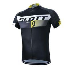 Wholesale Mountain Bike Clothing Scott - SCOTT Pro Team Cycling Jerseys bicycle Clothing Racing Bike Sportswear short sleeve maillot Ropa Ciclismo MTB Bike mountain wear C0118