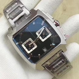 Wholesale Monaco Watches - Top brands men watches, MONACO man fashion watches, stainless steel strap,
