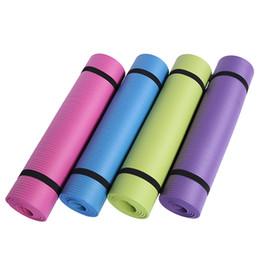 Yüksek Yoğunluklu 10mm NBR Egzersiz Yoga Mat 183 * 61 cm kaymaz Kalınlaşma Spor Egzersiz Fitness Mat için acemi nereden