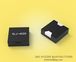 Wholesale Small Buzzers - Ultra Small SMD Electromagnetic Buzzer, 3V 110mA 73dB, KLJ-4020