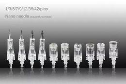 Wholesale 12 Pin Electric Derma Pen - Tamax DR.Pen 1 3 5 7 9 12 36 42 pins Needle bayonet Cartridge for Auto electric Derma pen Micro Needle
