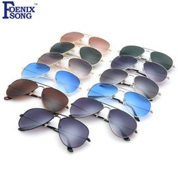 Wholesale Gafas Aviator - 2017 Brand New Pilot Sunglasses for Women Men Driving Sun Glasses Female Aviator Oculos de sol Gafas Cases