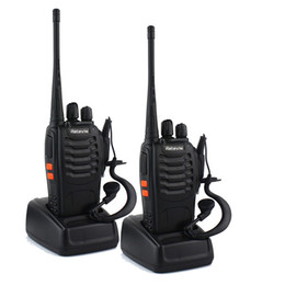 Wholesale Two Way Radio Earpieces - Retevis H-777 Two-Way Radio Long Range UHF 400-470MHz Signal Frequency Single Band 16 CH Walkie Talkies with Original Earpiece (2 Pack)