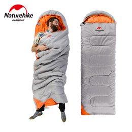 Wholesale Envelope Nh - Wholesale- Naturehike sleeping bag ultralight NH sleeping bags Envelope Style Camping Hiking Portable sleeping bag 220*75cm