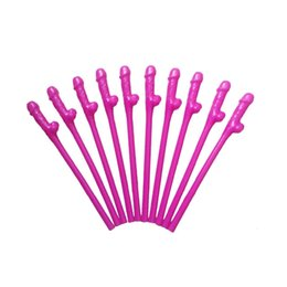 Wholesale Toys Stick Penis - 10 PZ Goodbye To Blowjob Willy Straw Drinking Penis Dicky Sticks Seating Straw Joke Sex Toys Gallen Night Straw Products Of Sex Favor