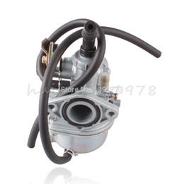 Wholesale Dirt Bikes Atvs - 1.9cm Cable Choke Carburetor PZ19 Carb For Chinese ATVs Dirt Bikes Go Karts 50 70 90 100 110 125cc Silver
