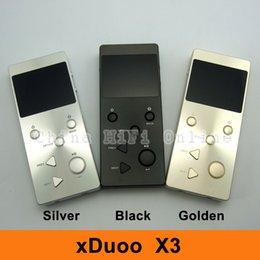 2019 mp3 кожаный чехол Оптовая продажа- [ свободный кожаный чехол 32G TF Card ] xDuoo X3 X-3 MP3 Lossless HiFi мини музыкальный плеер скидка mp3 кожаный чехол