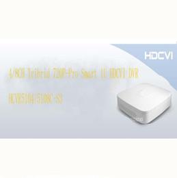 Wholesale Dvr Recorder 8channel - DAHUA Smart Video Recorder 4 8CH Tribrid 720P-Pro Smart 1U HDCVI DVR New Model Without Logo HCVR5104C-S3 HCVR5108C-S3