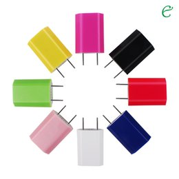 Wholesale Andriod Notes - Factory sales US Plug I4 USB Travel Charger Wall Charger Dock Charger for Iphone samsung galaxy S6 S7 note tablet Andriod