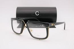 Wholesale Eyewear Children - Ca zal Sun glasses Eyewear 643 Luxury Polarized Vintage Mens Womens Aviator Sunglasses Brand Designer Oversized Big Frame Eyeglasses