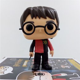 Wholesale Harry Potter Goblet - BONTOYSHOP FUNKO POP 1Pcs Set Hot Sale Movies The Goblet Of Fire Harry Bon Potter 10# PVC 10CM Action Figure Model With Original