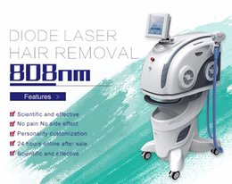 Wholesale Diode Laser Hair Removal Machines - 2016 luminous portable diode laser hair removal skin rejuvenation 808nm diode laser machine for all body
