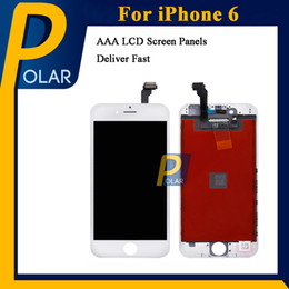 Wholesale Panels For Sale - 10pcs Sale Grade AAA quality For iPhone 6 LCD Display Touch Digitizer Complete Screen with Frame Full Assembly Replacement Full Stocked