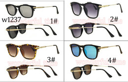 Wholesale Vintage Metal Frog - Moq=5 pcs 2017 New Hot Sale Unisex Fashion Exquisite Metal Vintage Color Mirror Frog Sunglasses Driving Beach Glasses 4 Colors Free Shipping