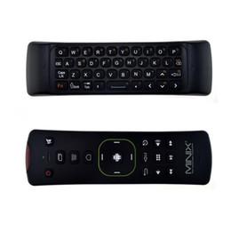 Argentina Fly Air Mouse Teclado inalámbrico de 2.4Ghz Compatible con Multi-OS de seis ejes Para Android Smart TV Box Controlador remoto de PC MINIX NEO A2 Lite Suministro