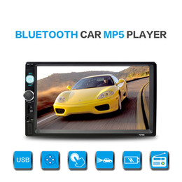 Wholesale High Definition Tv Tuners - Universal 7 inch high-definition large screen car DVD Bluetooth player car DVR card machine integrated machine
