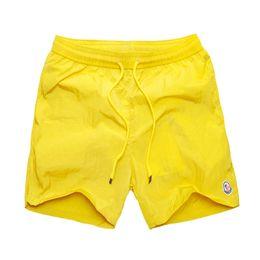 Wholesale Male Swim - 2018 New Swimwear Bermuda Male Letter Surf Life Men's Swim M0nclersted Board Shorts Mens Summer Beach Shorts Pants