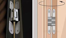 Wholesale Wholesale Door Hinge - 304 stainless steel folding cross door hinge coincide page hidden hinge concealed hinge hidden hinge for door open or close