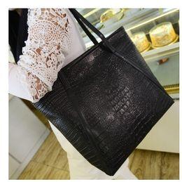 Wholesale Interior Alligator Crocodile - 2017 Women Shoulder Bags Famous Brand Designer Luxury PU Leather Handbags Messenger Bag Ladies Crocodile Pattern XY-0912