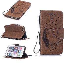 "Wholesale Slimmest Iphone Folio Case - iPhone 6 Case, Classic PU Leather Wallet Case For iPhone 6   iPhone 6S (4.7"") - Slim Flip Stand Folio Retro Cover"