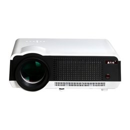 Wholesale Led Home Theatre Projector - Wholesale-New arrival ! Full HD 220W LED lamp 5500 Lumen 3D Proyector Native1280*800 Video for home theatre HD 1080P Digital Projector