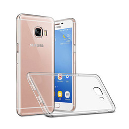 Wholesale Clear Back Case - For Samsung Galaxy S8 S8 Plus S7 S6 Edge Transparent Case Shockproof Ultra Clear Soft TPU Back Cover Free DHL