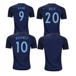 Wholesale Free England Shirt - 17 18 Jersey england ROONEY KANE STURRIDGE STERLING HENDERSON VARDY 2017 2018 10 or more free to send DHL Shirt Jerseys