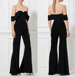 Wholesale Sweetheart Jumpsuits - Sweetheart Sheath Jumpsuit Zipper Floor Length Evening Suit Special Occasion Suit Sexy Elegant Custom Made on