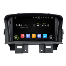 Wholesale Car Dvd Cruze - 7'' Quad Core Android 5.1 Car DVD Player For CRUZE 2008 2009 2010 2011 With Radio GPS Navigation Stereo Map Gift