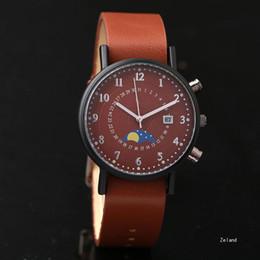 Дешево Известный бренд Спорт Роскошные мужские часы Автоматическая дата  Кожаный ремешок Кварцевые наручные часы Для мужчин мальчик часы Relogio  Masculino ... e5c7cce78d707