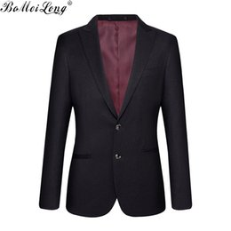 Wholesale Designer Business Suits Men - Wholesale- (Jackets+Pants) New 2016 Men Suit Famous Brand Bridegroom Suits Business Dress Designer Wedding Suits Slim Custom Blazer Trouser