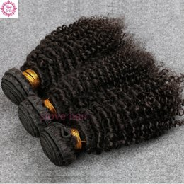 malaysian products Promo Codes - 8A Brazilian Virgin Hair 3Bundles Slove Rosa Hair Products High Quality Brazilian Kinky Curly Human Virgin Hair Free Shipping