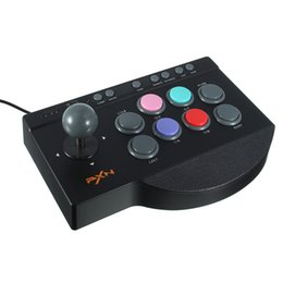 Wholesale Zero Delay - Arcade Game Joystick for PC for PS4 for Xbox One USB Control Arcade Stick Rocker Zero Delay Joostick
