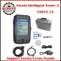 Wholesale Intelligent Tester Toyota - Good feedback Latest version V2017.1 toyota Denso Intelligent Tester IT2 For Toyota And Suzuki car diagnostic tool Without Oscilloscope