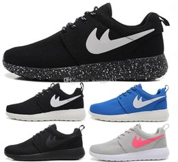 Wholesale Shoes Women Runing - Free Shipping Cheap Original 2017 Run Running Shoes Women and Men black white Runings Runing Shoe Athletic Outdoor Sneakers one Size36-45
