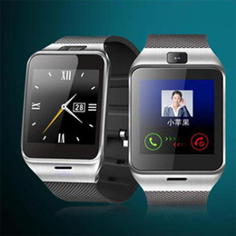 Wholesale Touch Screen Waterproof White Watch - Hot GEAR2 GV18 NFC Aplus Smart Watch With touch Screen Camera Bluetooth NFC SIM GSM Phone Call U8 sync Waterproof for Android C