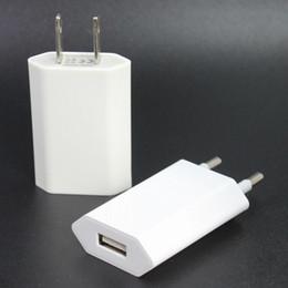 Cargador de pared EE. UU. Enchufe de la UE 5V / 1A universal de alta calidad para teléfonos móviles iPhone 100pcs / lot desde fabricantes