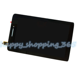 Wholesale tablet replacement screen lenovo - Wholesale- Free tools Replacement For Lenovo IdeaTab S5000 Tablet digitizer touch screen Glass with lcd display assembly