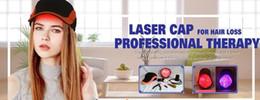2019 terapia de crescimento capilar 2017 novo modelo 276pieces laser 5mw diodesLaser Cap crescimento do cabelo cabelo crescimento LLLT terapia queda de cabelo tratamento capacete desconto terapia de crescimento capilar