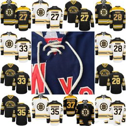 Wholesale Gold Moore - Youth Kids Boston Bruins Jersey 27 Austin Czarnik 28 Dominic Moore 33 Zdeno Chara 35 Anton Khudobin 37 Patrice Bergeron Hockey Jerseys