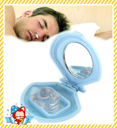 Wholesale Silicon Stop Snoring Nose - Silicon Anti Snore Ceasing Stopper Anti-Snoring Free Nose Clip Health Sleeping Aid Equipment Anti Snoring and Apnea Stop Snoring