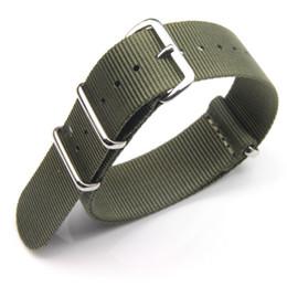 Часы наручные онлайн-10pcs / Lot Черного Зеленый Оранжевого Хаки Fine Quality Нейлон Ремешки Nato полосы для Timex 3-Rings 18мм 20мм 22мм 24мм Бесплатной доставки