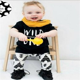 86c6666c1f43 cute baby boy summer outfits 2019 - DHL Cute Baby Girls Boys Clothes  Outfits Set Children