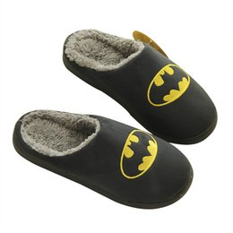 Wholesale Wholesale Hotel Plush Slippers - Unisex Women Men Real Leather Slippers Winter Genuine Flats Indoor Shoes Couple Shoes Furry Warm Home Slippers