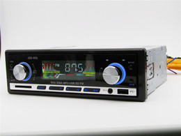 Wholesale Player Dash Kits - Free shippinFactory supply 24V Car MP3 Player Car Audio Stereo In-dash FM Aux Input Receiver SD USB MP3 MMC WMA Bluetooth Car Radio Player