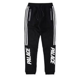 Wholesale Men S Casual Pants Fashion - Palace Skateboards Sport Pants Hip Hop Union Kanye 3M Reflective JOGGER High Quality Fashion Triangle Palacio Autumn Sweatpants