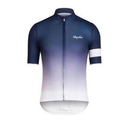 Wholesale Women S Cycling Jerseys - New Rapha pro cycling jersey 2017 Breathable quick dry bike maillot ropa ciclismo Bicycle short sleeve shirts MTB bicicleta clothing F2801